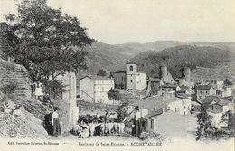 Environs De Saint-Etienne - Rochetaillée, Vue Générale, Moutons - Edition Nouvelles Galeries - Rochetaillee