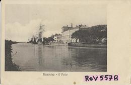 Lazio-fiumicino-il Porto Bella Veduta Barche A Vela Primi 900 - Fiumicino