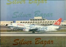 AEREI-AEROPORTI-MALTA-VALLETTA-LUQA-BOEING 737-300 - Aerodrome