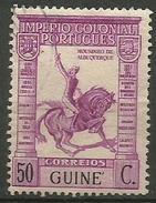 Portuguese Guinea - 1938 De Albuquerque 50c MH     Sc 241 - Portuguese Guinea