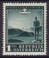 Austria 1945 Dawn Of Peace Sc B165 Mint Never Hinged - 1945-.... 2ème République