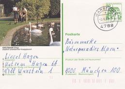 """BPK Bund P 134 I """"Hennef"""" Gelaufen Ab """"WARSTEIN 1"""" (ak0404) - Cigni"""