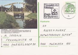 """BPK Bund P 134 I """"Moers"""" Gelaufen Ab """"DÜSSELDORF"""" (ak0408) - Brücken"""