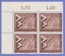 BER SC #9N145-7 MNH B4 1957 Int'l Building Show, CV $9.60 - Unused Stamps