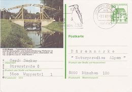 "BPK Bund P 134 I ""Moers"" Gelaufen Ab ""WUPPERTAL "" (ak0410) - Brücken"