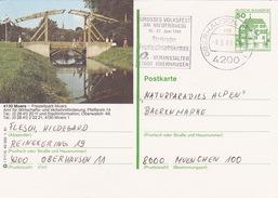 "BPK Bund P 134 I ""Moers"" Gelaufen Ab ""OBERHAUSEN, RHEINL. 1 "" (ak0411) - Brücken"