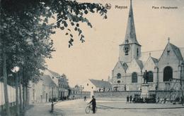 MEYSSE (Meise) - Place D'Hooghvorst - Carte Bleuté - NELS -  Etat Voir Scan - Meise
