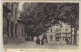 PUIGCERDA - Plaza Barcelona - Cerdana Espanola - Ed. Labouche Frères, Toulouse - France
