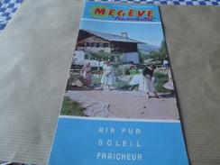 Depliant Megeve L Ensoleillee - Dépliants Touristiques