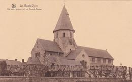 SINT-BAAFS-VIJVE - De Kerk, Gezien Uit Het Noord-Oosten - NELS - Wielsbeke