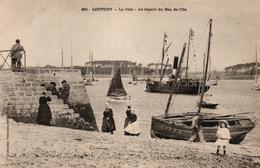 LOCTUDY -29- LA CALE LE DEPART DU BAC DE L'ILE - Loctudy