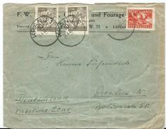 Slovenia Letter. Via Germany.Kranj - Slovénie