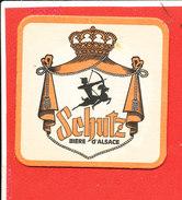 SOUS BOCK Biere D ' Alsace SCHUTZ - Sous-bocks