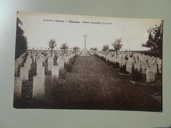 PAS DE CALAIS ENVIRONS D'ARRAS DUISANS BRITISH CEMETERY - Arras