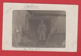Ovillers  -- Carte Photo  -  Soldat Allemand  - 1915 - France