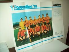 """Poster Nazionale  Calcio """"Olanda""""  Mondiali 1978. - Calcio"""