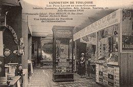 V7938 Cpa 31 Exposition De Toulouse 1924 -  Vue Intérieure Du Pavillon De L'Alimentation - Toulouse