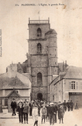 V7944 Cpa 56 Ploermel - L'Eglise, La Grande Porte - Ploërmel