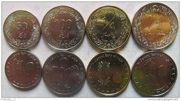 LIBYA Set Of 4 Coins UNC - Libië