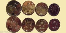 ZAMBIA Set Of 4 Coins UNC - Sambia
