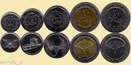 YEMEN Set Of 5 Coins UNC - Jemen