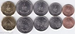 VANUATU 2015 Set Of 5 Coins UNC - Vanuatu