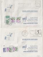 AVIGNON GARE Et CHAUMONT GARE, 2 ENVELOPPES TAXEES. 1979. - Lettres Taxées