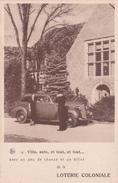 CP Pub Pour La Loterie Coloniale - NELS N° 13 - Cartes Postales