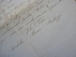 Isabella ROMA RATTAZZI Bonaparte (1883) Tremblement Terre ISCHIA (Italia Napoli) - AUTOGRAPH - Autographs