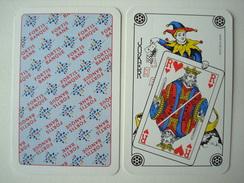 Fortis Bank Banque. - 2 Jokers Assortis. - Cartes à Jouer Classiques