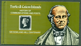 TURKS & CAICOS Carnet De 13 Tp ADHESIFS Dont CONCORDE - Turks & Caicos