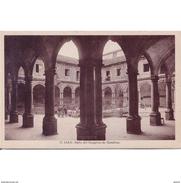 JNTP7795CPA-LFTMD5675TARSC.Tarjeta Postal De JAEN.Edificios,columnas,arcos Y PATIO Del HOSPICIO DE HOMBRE En JAEN - Edificios & Arquitectura