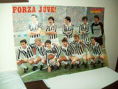 """Poster Intrepido  Calcio """"Juventus""""  1984/1985 - Non Classificati"""