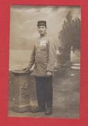 Carte Photo  - Soldat Allemand Prise à Mulhouse - War 1914-18