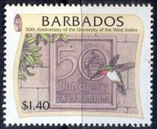 BARBADOS - UNIVERSITY DIPLOMA - Humming  BIRDS - **MNH - 1998