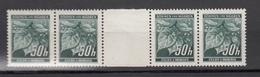 Böhmen Und Mähren 1940,4W Mit Zwischensteg,Postfrisch(D2528) - Deutschland