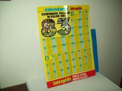 Calendario Campionato Italiano Di Calcio Serie A  E Serie B  1982/83 - Calcio
