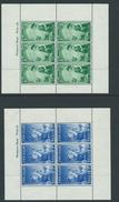 New Zealand Hm Miniature Sheets Sg764a Pair Marinally Hinged. - Blocks & Sheetlets