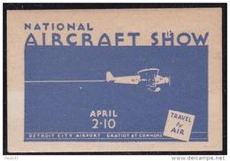 Etats Unis - Vignette Aircraft Show Détroit - Neuf * - TB - Erinnophilie
