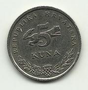 1999 - Croazia 5 Kuna, - Croazia