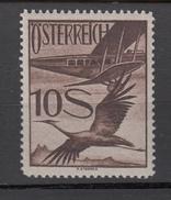 Austria Österreich 1925,1V,birds,vogels,vögel,oiseaux,pajaros,aves,flugzeug,airplane,MLH/Ongebruikt(A3225) - Birds