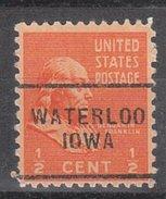 USA Precancel Vorausentwertung Preos Locals Iowa, Waterloo 703