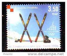 Croatia 2006 Y Sport Olympic Games Mi No 754 MNH - Kroatië