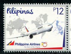 XF0959 Philippines 2016 Aircraft Map 1v MNH - Filipinas