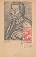 D29824 CARTE MAXIMUM CARD 1943 FRANCE - CHEVALIER DE BAYARD SOLDIER CP ORIGINAL - 1940-49