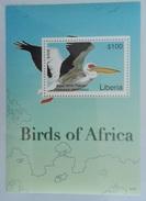 Liberia 2007** Bl.557. Birds Of Africa MNH [7;44]