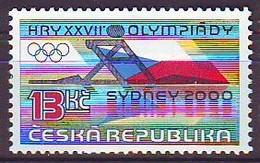 CZECH REPUBLIC 267,unused,olimpic Sport - Ete 2000: Sydney