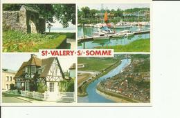 CPM SAINT VALERY SUR SOMME MULTIVUES - Saint Valery Sur Somme