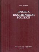 ISTORIA DOCTRINELOR POLITICE By Voiculescu, Marin - Cultural