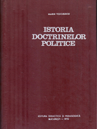 ISTORIA DOCTRINELOR POLITICE By Voiculescu, Marin